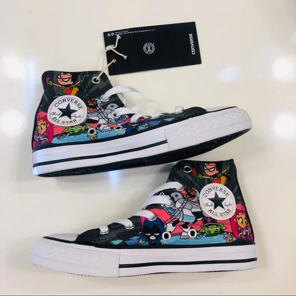 060d1e1f6b Converse Shoes | Nwt Teen Titans Go | Poshmark